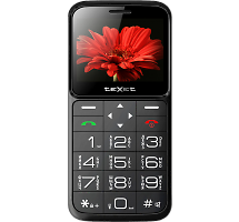 Телефон Texet TM-B226 Black- Red
